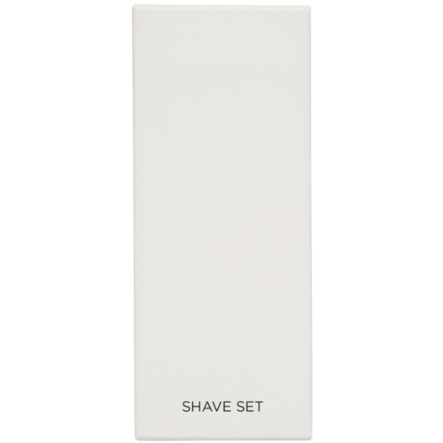 White Boxed Shave Kit x 100