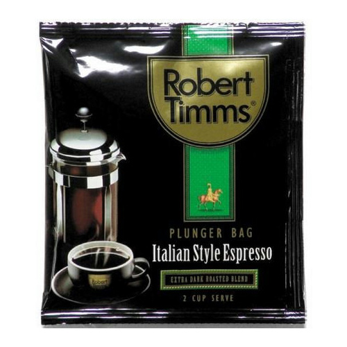 Robert Timms Plunger Espresso Coffee Bags X 50