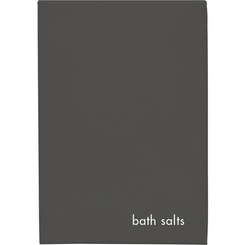 Charcoal Boxed Bath Salts x 250