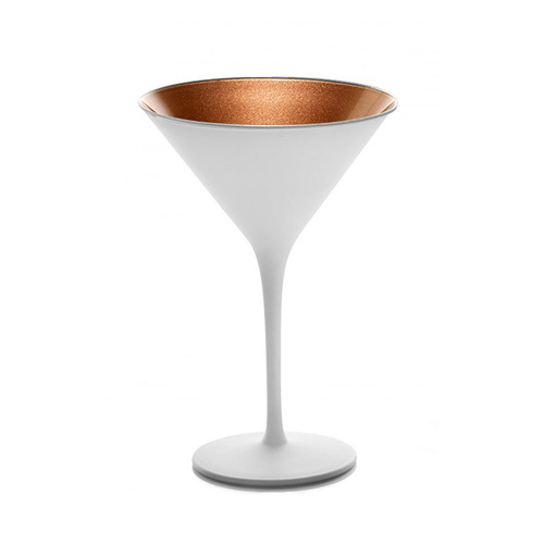 Stolzle Olympic Cocktail Glass White/Bronze X 6