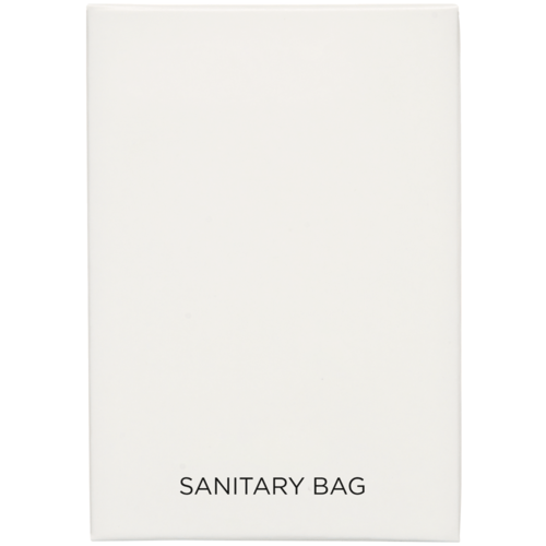 White Boxed Sanitary Bag 250 pieces