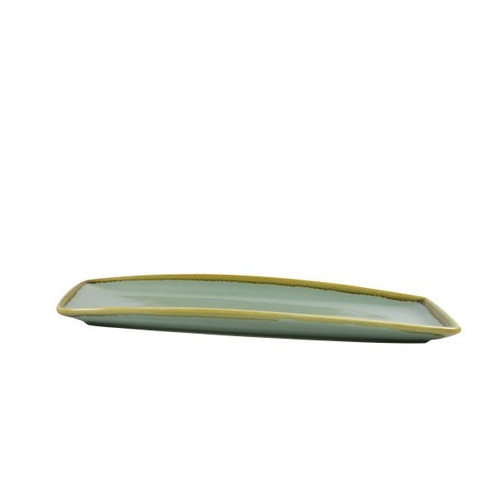 Coast Aqua Green Rectangular Platter Large x 4