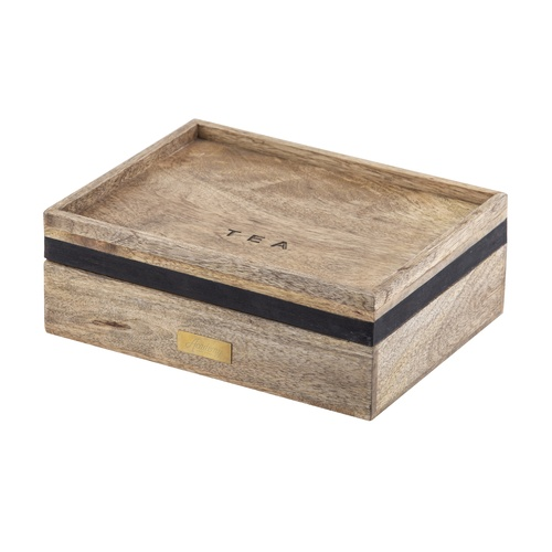 James Mango Wood Tea Box