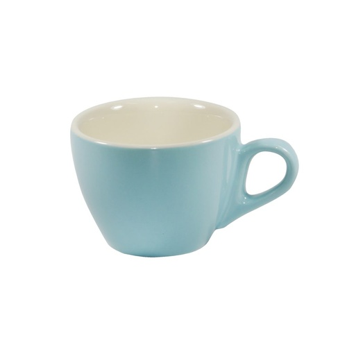 Brew-Maya Blue/White Flat White  Cup 160Ml x 6