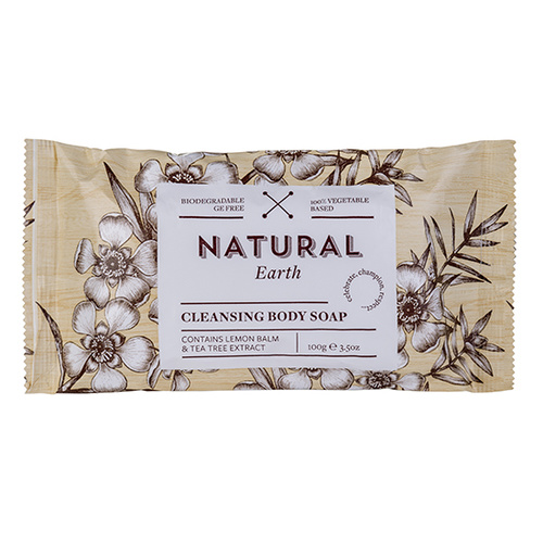 Natural Earth 100g Wrapped Soap (100 pieces)