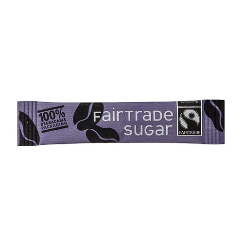 Cafe Style Fairtrade Sugar Sticks (2000 Portions)