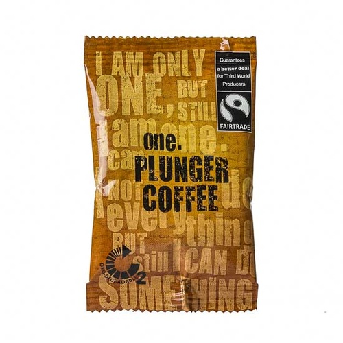 One Fairtrade Plunger Coffee (75 Portions)