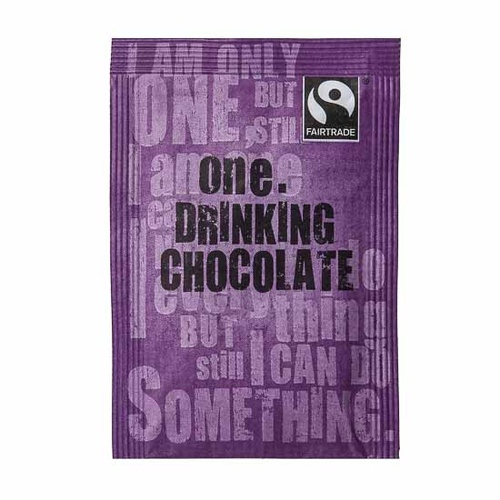 One Fairtrade Hot Chocolate Sachets