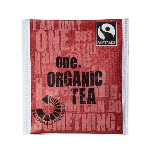 One Fairtrade Overwrapped Black Tea Bags x 500