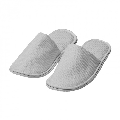 Waffle Weave Closed Toe Slippers 30Cm