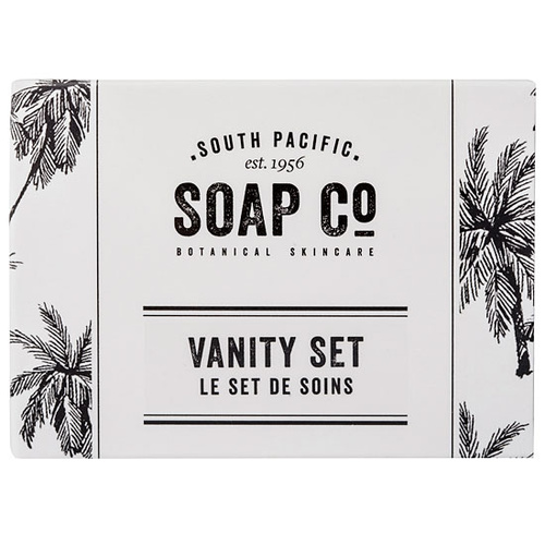 South Pacific Soap Co Vanity Set